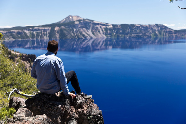 Majestic Crater Lake