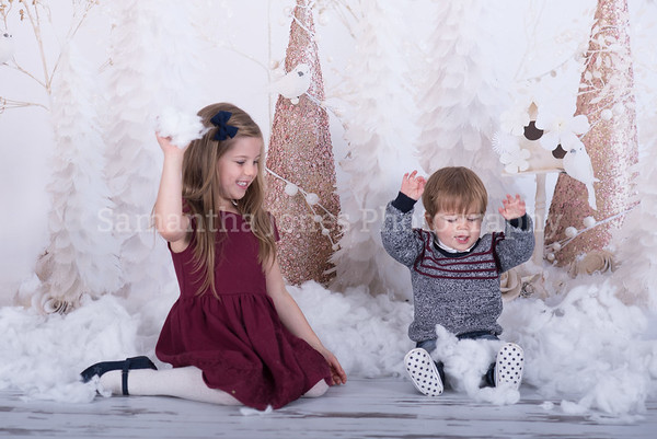 Amelie and Lucas Christmas mini sessions 14 October 2017