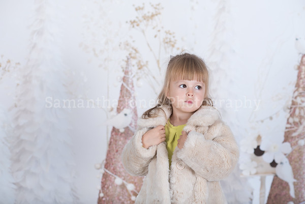 Amy Christmas mini session 14 October 2017