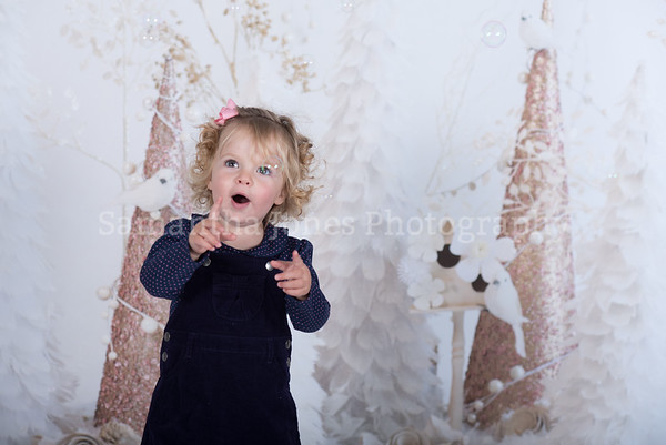 Isabella Christmas mini session 14 October 2017