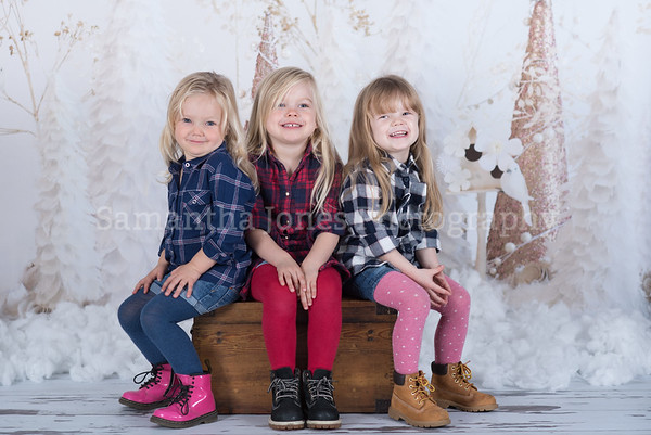 Tallulah, Scarlett and Isabella