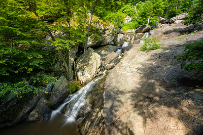 Cunningham Falls, Maryland from quarter-way up