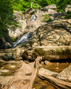 Cunningham Falls, Maryland from below