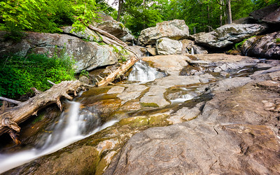 View of upper section of Cunningham Falls, Maryland