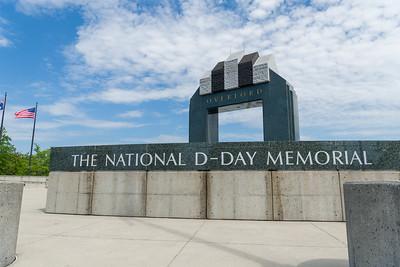 Estes Plaza, National D-Day Memorial, Bedford, Virginia