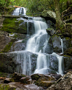 Laurel Falls (full #1), Great Smoky Mountains National Park, Tennessee