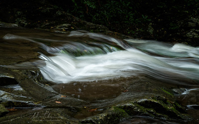 Detail of cascade on the Little River, Great Smoky Mountains National Park, Tennessee