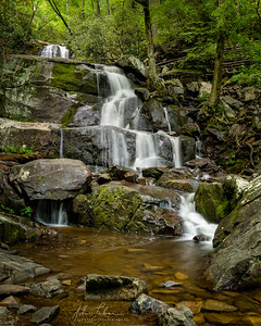 Laurel Falls (full #4), Great Smoky Mountains National Park, Tennessee