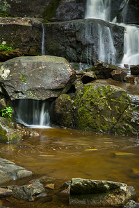 Laurel Falls (lower tier - detail #2), Great Smoky Mountains National Park, Tennessee