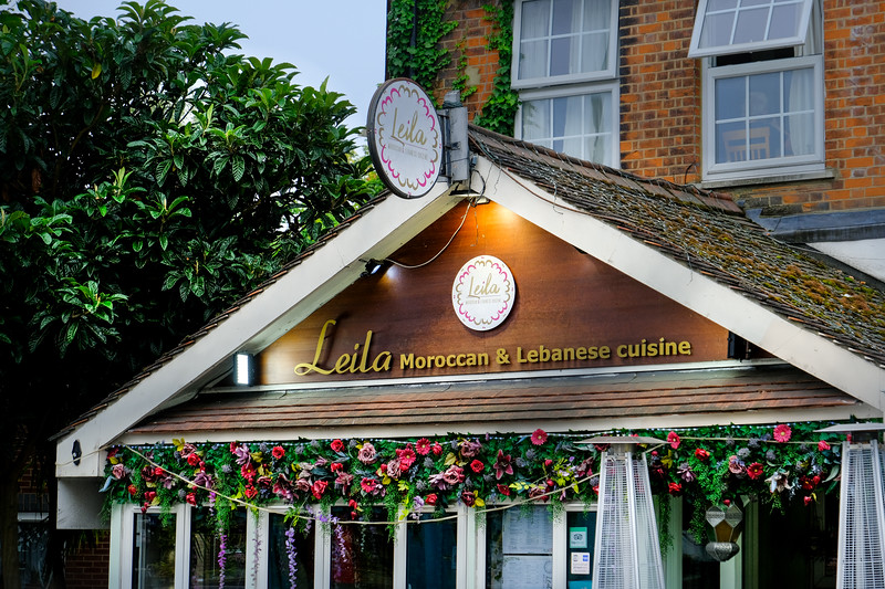Leila's Moroccan Resturant, Ealing Common