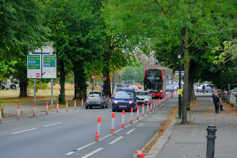 A406, Ealing Common