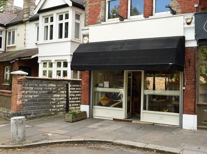 Abbotshill Wine Shop (being refurbished!), Ealing