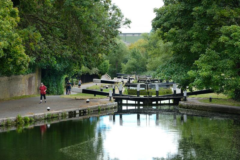 Hanwell Locks & River Brent, Hanwell
