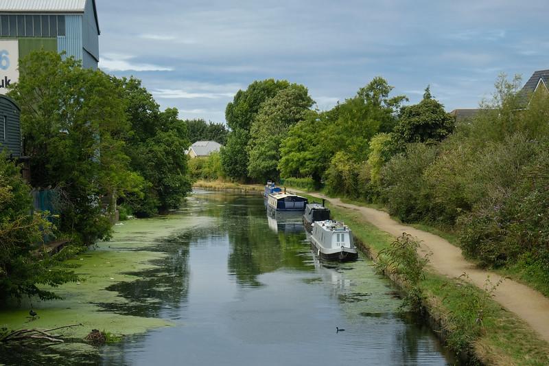 River Brent, Hanwell