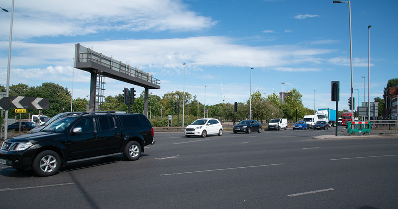 Hanger Land Roundabout & Station, Park Royal