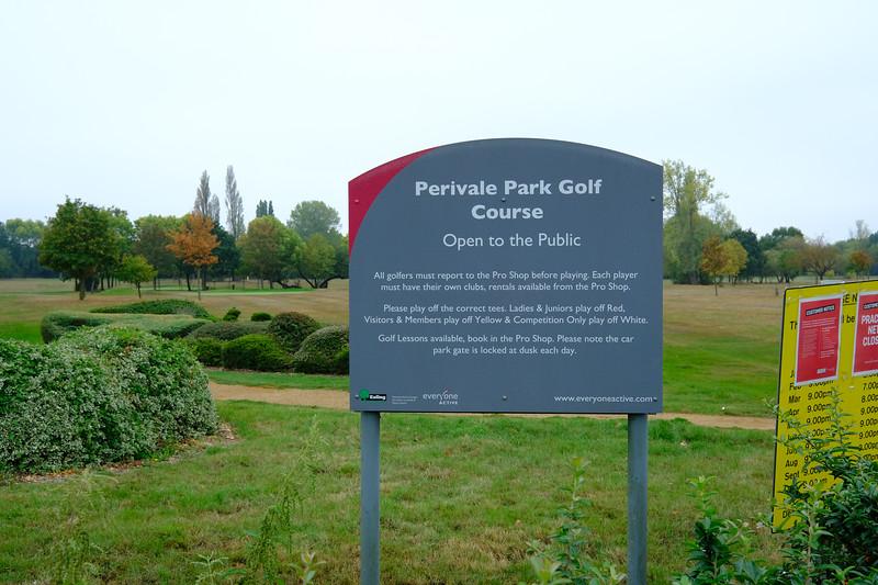 Perivale Park Golf Club, Perivale