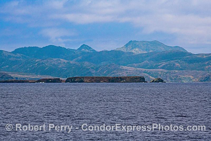 Fraser Point and the western end of Santa Cruz Island