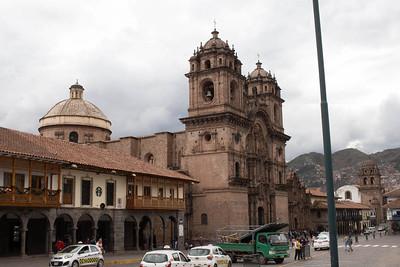 DA093,DT, Church of the Society of  Jesus, Cusco, Peru