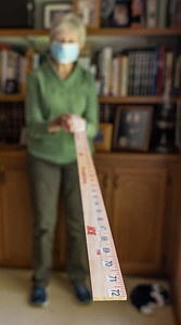 2-Yard Stick for Social Distancing