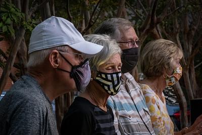 Pandemic Vigil for RBG - Walnut Creek, CA