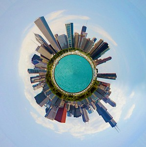 DA115,DA,Tiny-Planet-Chicago-Impressionist