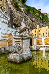 DA040,DT,Leopoldo_Stallion_Fountain_Salzburg_Germany