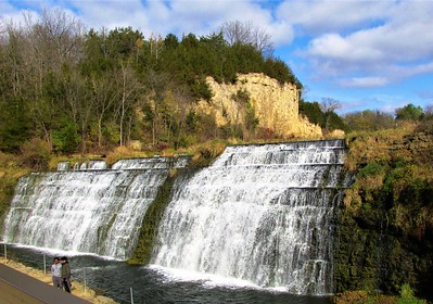 DA104,DT, Thunder Bay Falls, Galena, Illinois