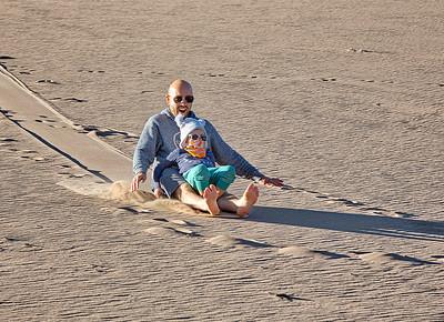 DA115,DJ,Sand Sledding in the Dunes