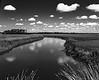 River & clouds at Cassique