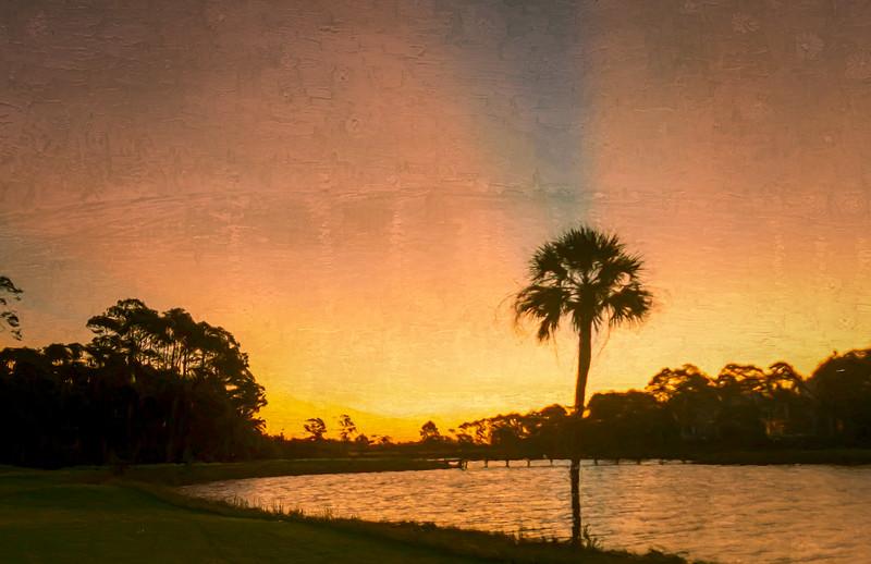 Sunrise 2nd Hole Osprey Golf Course