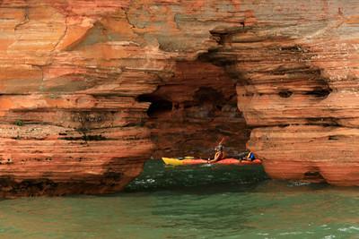 DA110,DT,Sea Caves Apostle Islands WI