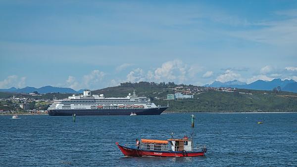 Anchored in Puerto Montt