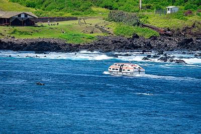 Tendering ashore