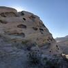 eroded soft stone