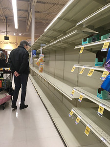 No toilet paper in any store in Marin County