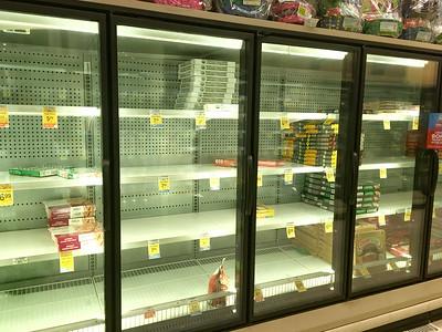 Frozen Pizza section @ Safeway