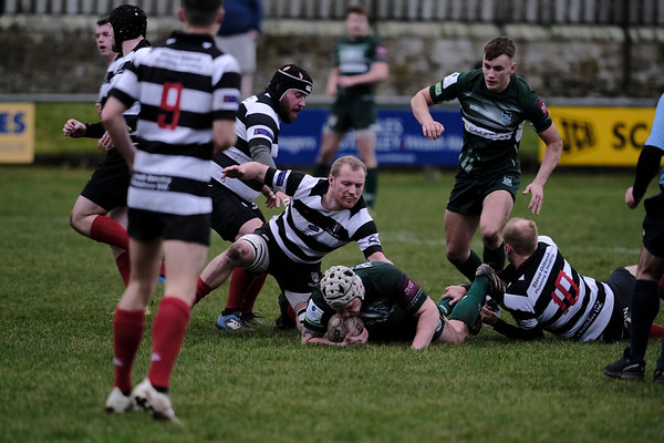 Rugby, Kelso vs Hawick Force , Kelso