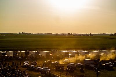300 Raceway pit area