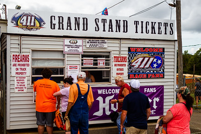 411 Motor Speedway ticket booth