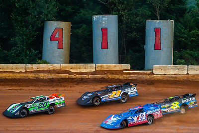 Jimmy Owens (20), Cory Hedgecock (23), Josh Richards (14) and Kyle Strickler (8)