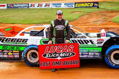 Lucas Oil Slick Mist Fast Time Award winner Jimmy Owens