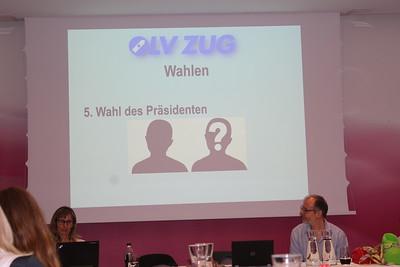 48.Ordentliche Generalversammlung OLV Zug, Zuwebe, 23.Februar