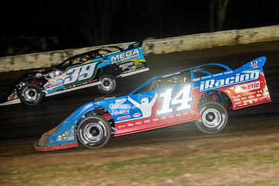 Tim McCreadie (39) and Josh Richards (14)