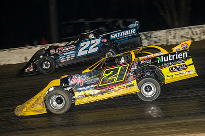 Billy Moyer, Jr. (21JR) and Gregg Satterlee (22)