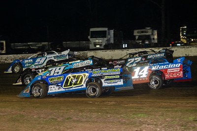 Devin Moran (9), Tim McCreadie (39), Jesse Stovall (00), Gregg Satterlee (22) and Josh Richards (14)