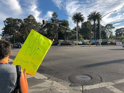 Claim the Avenue for Black Lives    Albany-El Cerrito 10