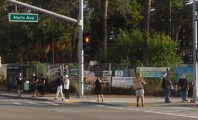 Claim the Avenue for Black Lives    Albany-El Cerrito 15