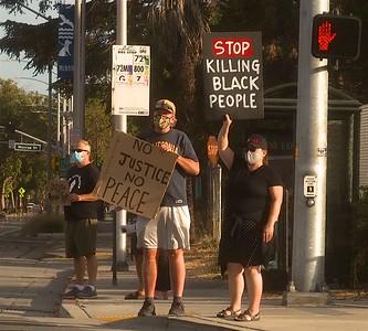 Claim the Avenue for Black Lives    Albany-El Cerrito 19