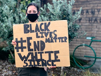 Claim the Avenue for Black Lives    Albany-El Cerrito 9