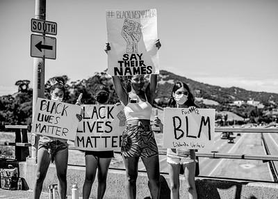 © Stephanie Mohan _celebrating black & brown resilience atnit-racist community eventDSC_7899bw